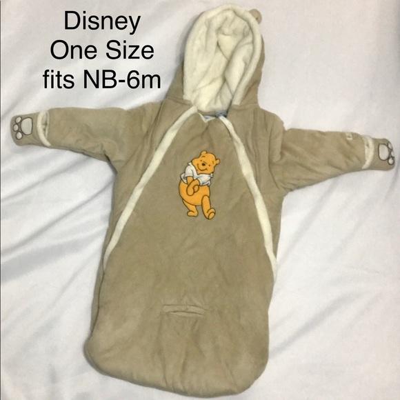 Disney Bunting Bag Winnie the Pooh NB NwoT